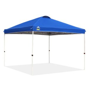 Crown Shades 10x10 Straight Leg Canopy