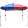 Everbilt Texas Flag 10' x 10' Instant Canopy (TX-THD)